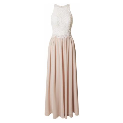 Laona Večerné šaty  ružová / biela