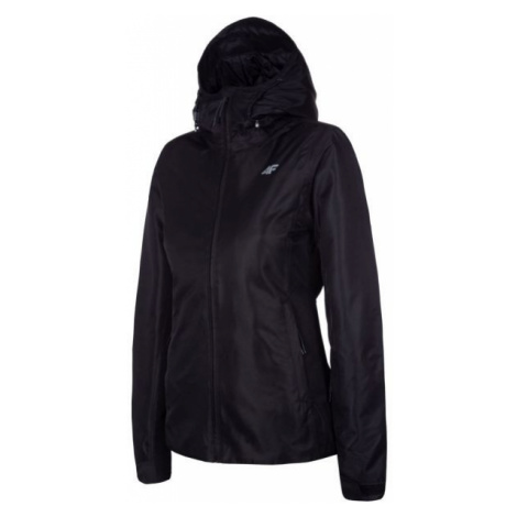 4F WOMEN'S SKI JACKET čierna - Dámska lyžiarska bunda
