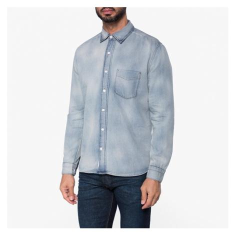 Modrá džínsová košeľa Air Cheap Monday