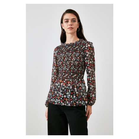 Trendyol Multicolored Floral Blouse