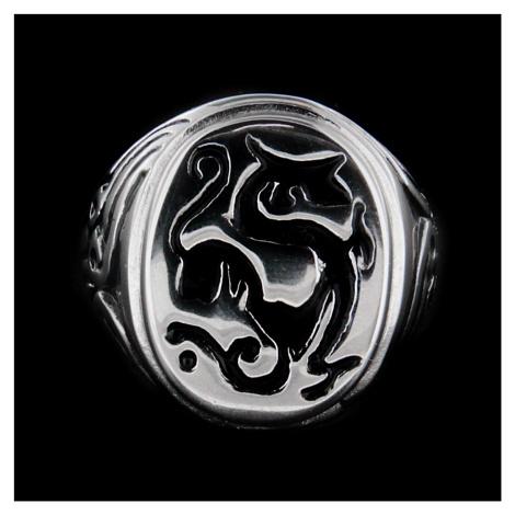 Oceľový prsteň 15882