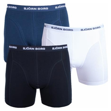 3PACK men's boxers Bjorn Borg multicolored