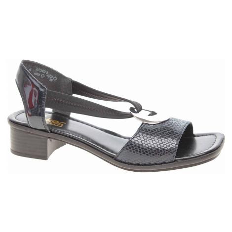Dámské sandály Rieker 62662-14 blau 62662-14