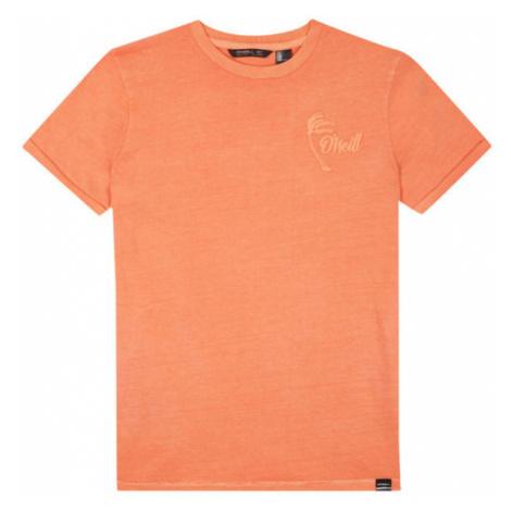O'Neill LB CARTER WASHED T-SHIRT oranžová - Chlapčenské tričko