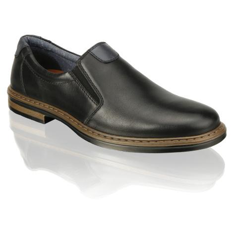 Master Class hladká koža Klasická nazúvacia obuv