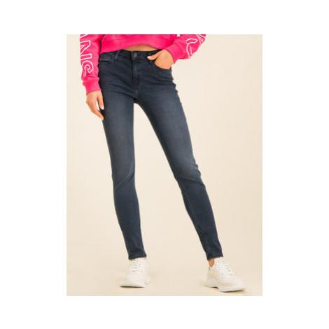 Calvin Klein Jeans Slim fit džínsy J20J213129 Tmavomodrá Slim Fit