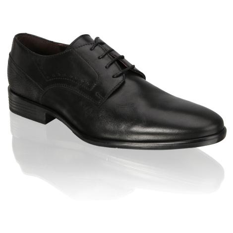 Pat Calvin šnurovacia obuv čierna