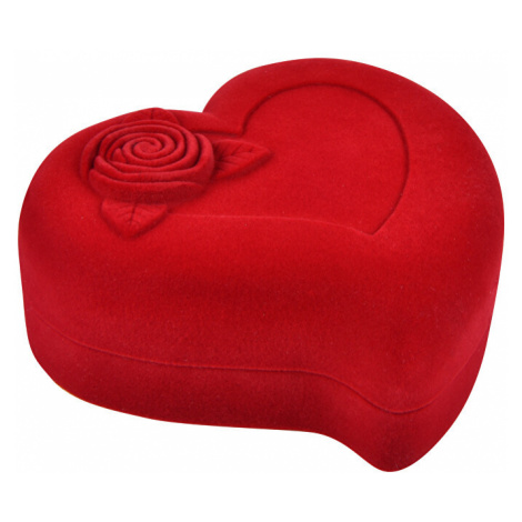 JK Box Darčeková krabička na náhrdelník Srdce F-92 / A7 JKbox