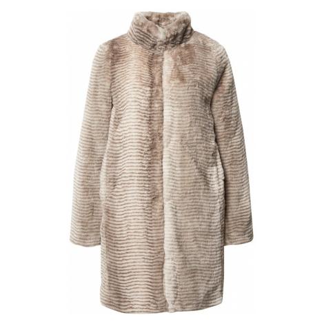 Dorothy Perkins Prechodný kabát  krémová / hnedá