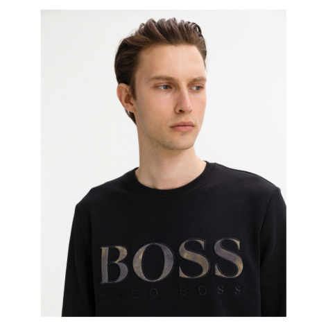 BOSS Mikina Čierna Hugo Boss