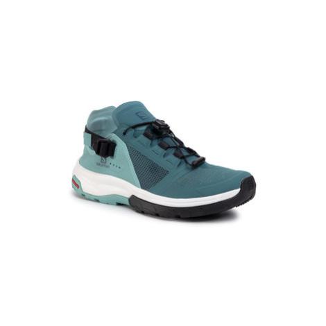 Salomon Trekingová obuv Tech Amphib 4 W 409926 Modrá
