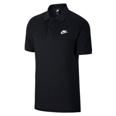 Nike NSW CE POLO MATCHUP PQ čierna - Pánske tričko Polo