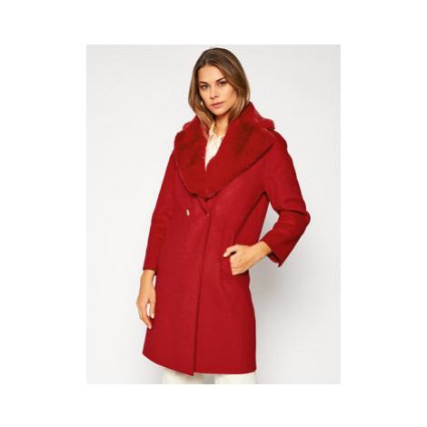 Liu Jo Prechodný kabát CF0178 T4592 Červená Regular Fit