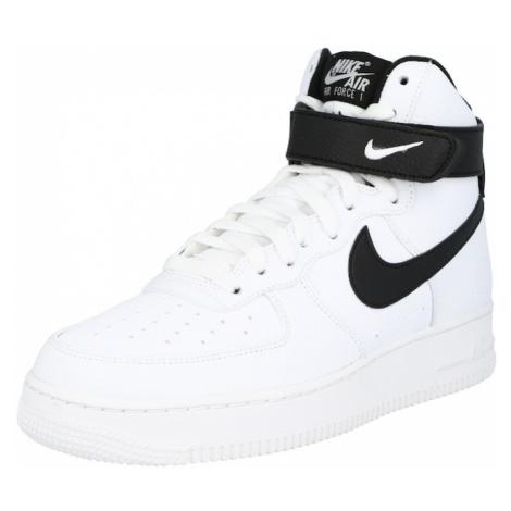 Nike Sportswear Členkové tenisky 'Nike Air Force 1 '07'  biela / čierna