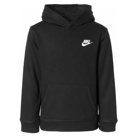 Nike Sportswear Mikina 'Club'  čierna / biela