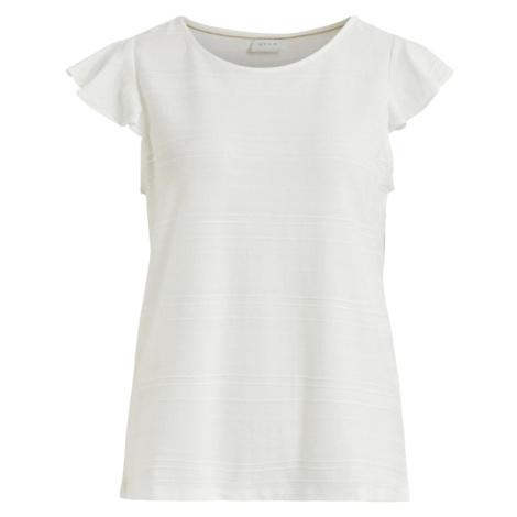 VILA Tričko  biela