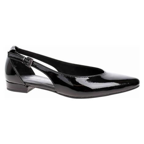 Dámské baleriny Marco Tozzi 2-22114-24 black patent 2-2-22114-24 018