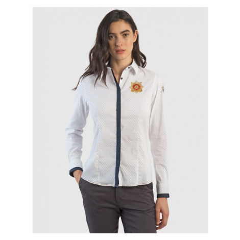 Košeľa La Martina Woman Shirt L/S Light Twill Pr