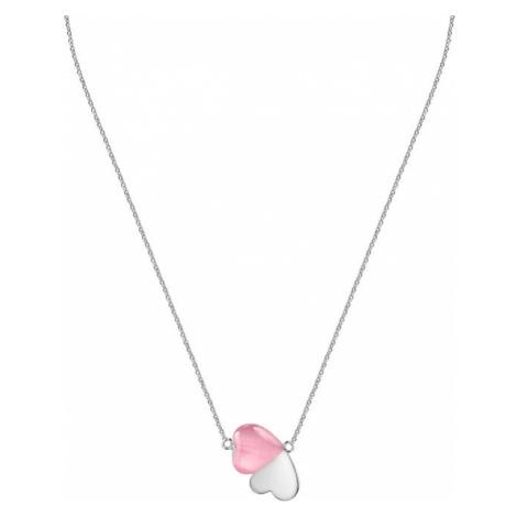 Morellato Romantický strieborný náhrdelník s mačacím okom Cuore SASM10