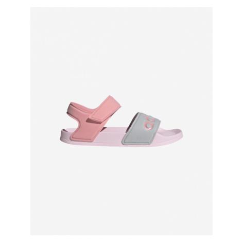 adidas Performance Adilette Sandále detské Ružová