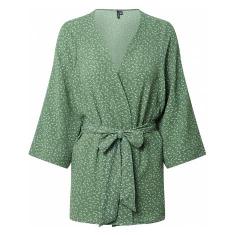 VERO MODA Kimono 'OLIVIA'  zelená