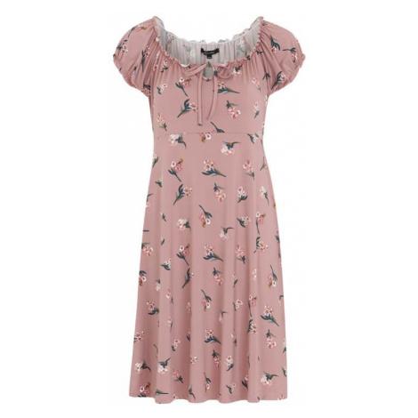 Vzorované džersejové šaty Tessan