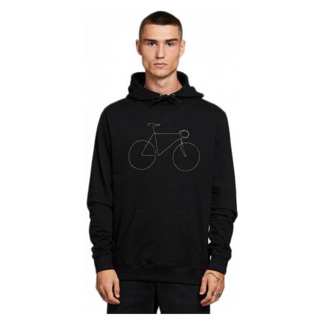 Dedicated Hoodie Falun Rainbow Bicycle Black-XL čierne 18304-XL