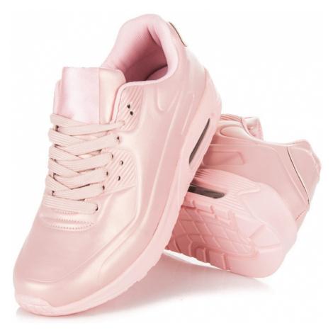 Dámske ružové štýlové športové tenisky CNB