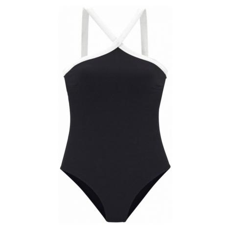 JETTE Jednodielne plavky  čierna
