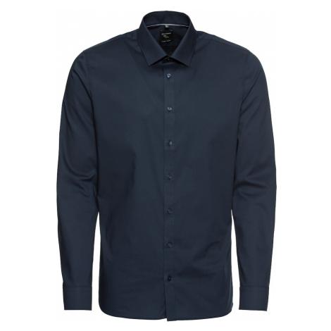 OLYMP Biznis košeľa 'No. 6 Uni Pop'  námornícka modrá