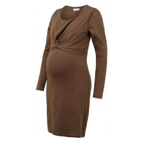 MAMALICIOUS Šaty  hnedá Mama Licious