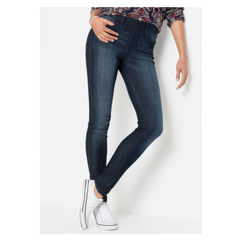 Strečové džínsové legíny
