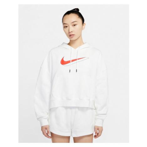 Nike Sportswear Icon Clash Fleece Mikina Biela