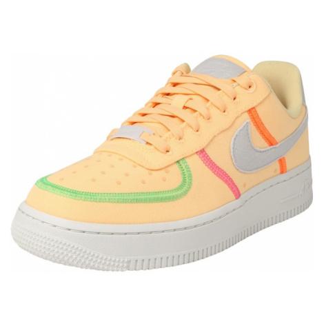Nike Sportswear Nízke tenisky 'Air Force 1'  svetlosivá / melónová / ružová / zelená