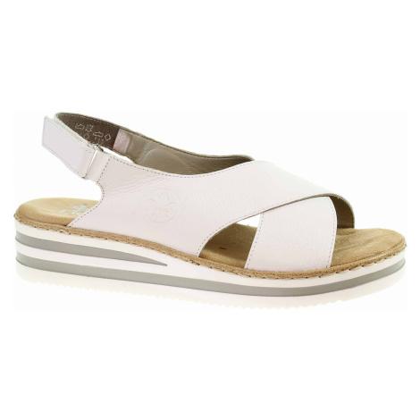 Dámské sandály Rieker V0271-80 weiss V0271-80