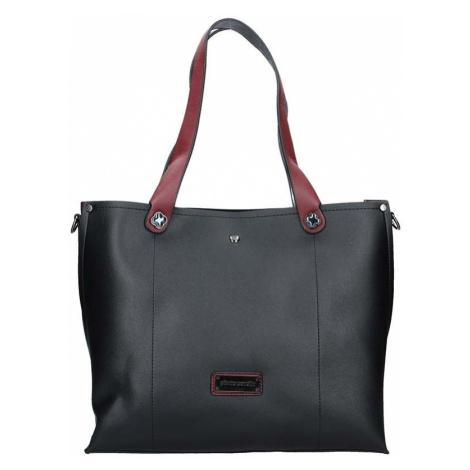 Dámska kabelka Pierre Cardin Apolena - čierno-vínová