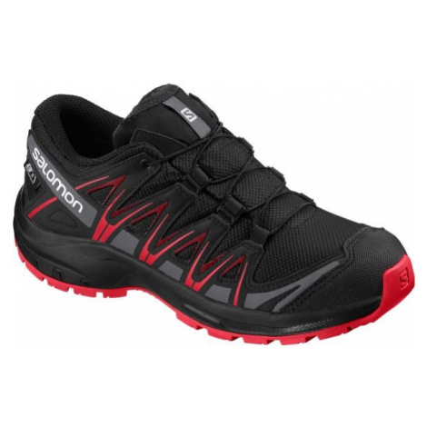 Salomon XA PRO 3D CSWP J čierna - Detská bežecká obuv