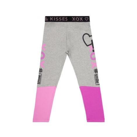 Primigi Legíny Pink Generation 44122841 Sivá Slim Fit