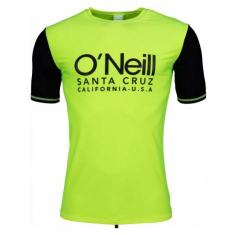 O'Neill PM CALI S/SLV SKINS zelená - Pánske tričko do vody