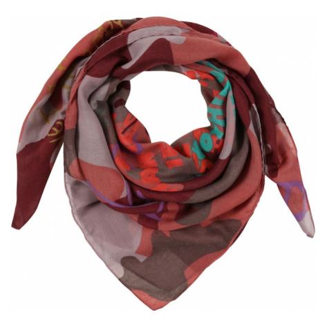 CODELLO Látkové rúško 'Summer Darks'  rosé / svetloružová / hnedá