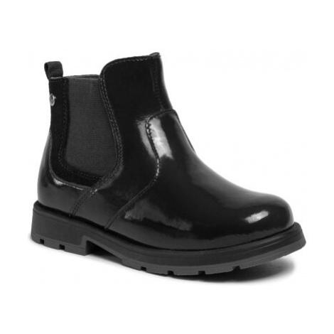 Členkové topánky Lasocki Kids CI12-BLUND-01 Prírodná koža(useň) - Lakovaná