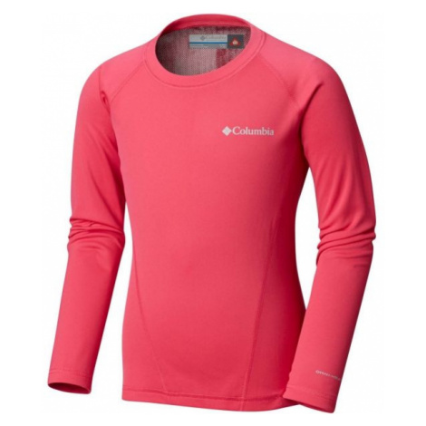 Columbia MIDWEIGHT CREW 2 ružová - Detské funkčné tričko