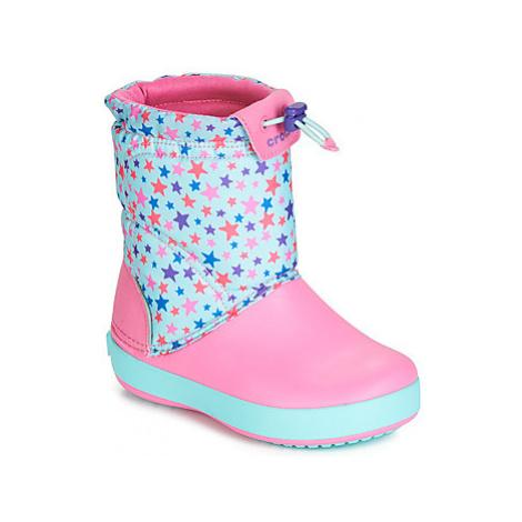 Dievčenské snehule Crocs
