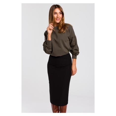Čierna sukňa S171