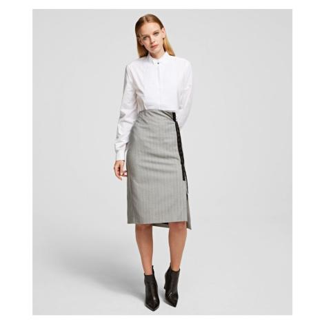 Sukňa Karl Lagerfeld Pencil Skirt W/Hook & Eye Tape