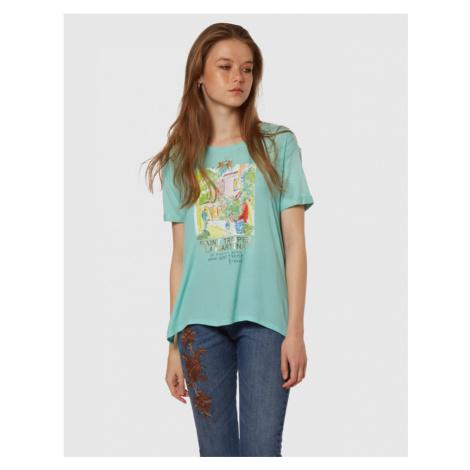 Tričko La Martina Woman Tshirt S/S Viscose Crepe