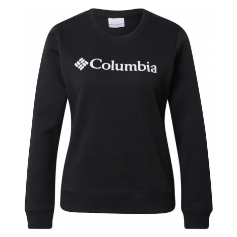 COLUMBIA Mikina  čierna / biela