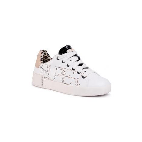 SuperTrash Sneakersy Lewi Lsr W 2011 030501 Biela
