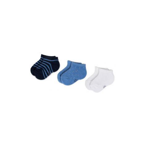 Mayoral Súprava 3 párov detských členkových ponožiek 10734 Modrá