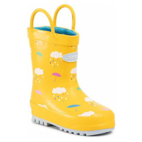 Gumáky CHIPMUNKS - Rain CH188  Yellow 015